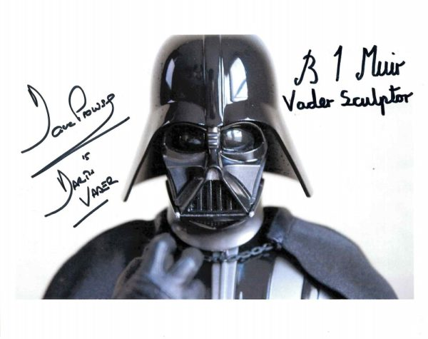Dave Prowse Brian Muir Autograph