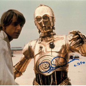 Anthony Daniels Autographs C-3PO Star Wars