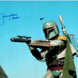 Jeremy Bulloch Autograph poster aka Boba Fett from Star Wars