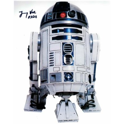 Jimmy Vee Autographs for sale | R2-D2 Star Wars