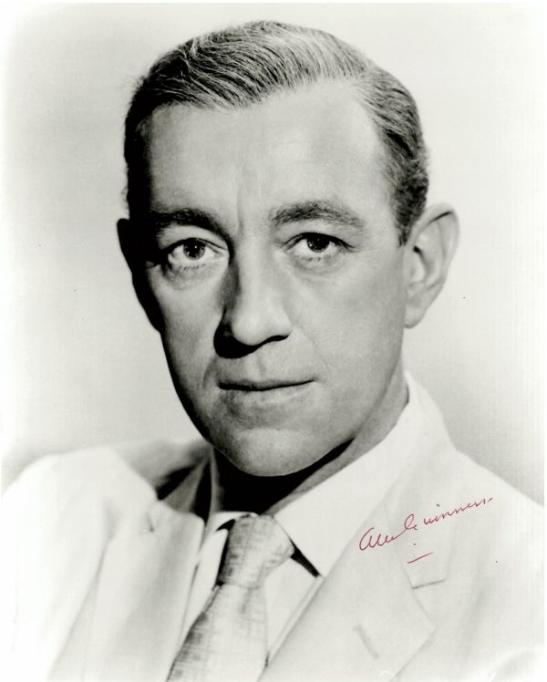 Authentic Alec Guinness autograph photo