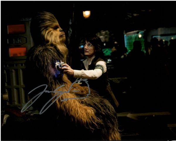 Joonas Suotamo Autographs Chewbacca 8x10