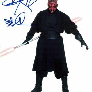Ray Park as Darth Maul Autograph