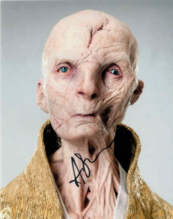 Andy Serkis Autographed 8x10 photo - Snoke Star Wars