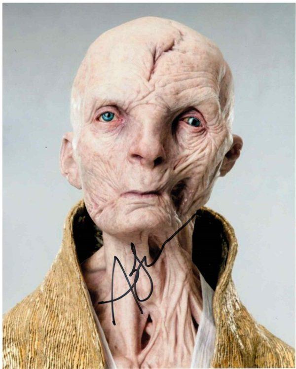Andy Serkis Autograph Snoke 8x10 3