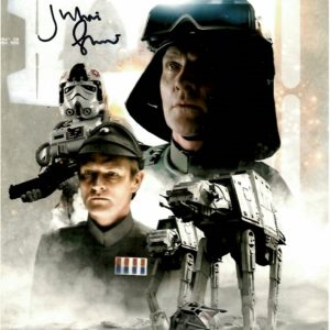 Julian Glover General Veers Autographs | AT-AT Driver