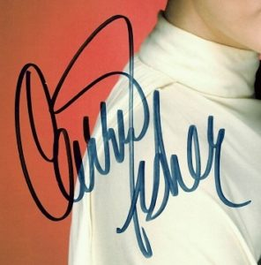 Carrie Fisher autographs for sale star wars princess leia 3