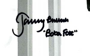 Jeremy Bulloch Boba Fett Star Wars 3