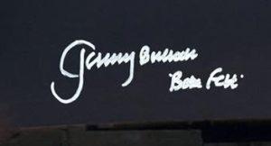 Jeremy Bulloch autographs Boba Fett Star Wars 5