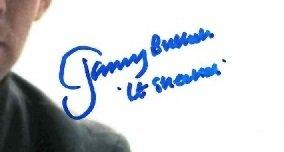 Jeremy Bulloch autographs Lieutenant Sheckil Star Wars 1