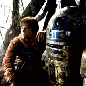 Authentic Kenny Baker R2-D2 Autographed Star Wars Photograph 8x10""
