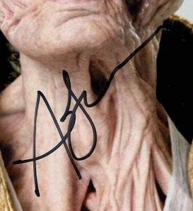Andy Serkis autographs snoke 8x10 3 (1)