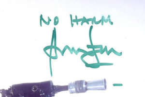 Autograph of Han Solo Harrison Ford