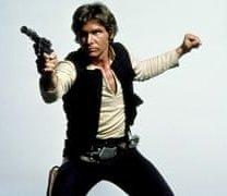 Han Solo autograph Harrison Ford