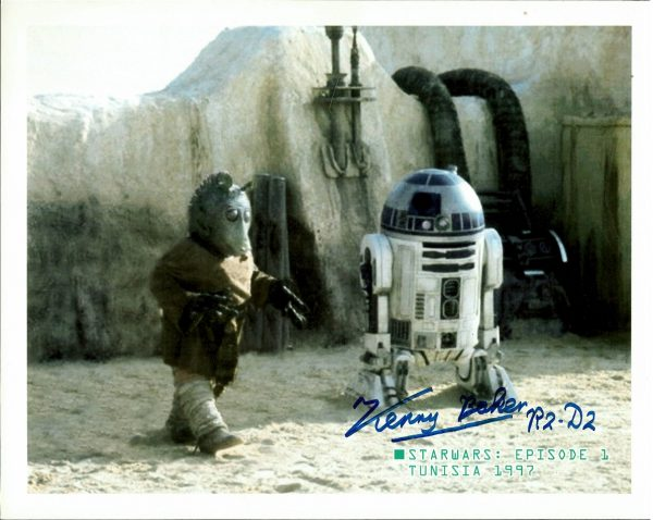 Kenny Baker signed Autograph | Star Wars photo R2-D2