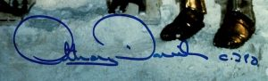 Anthony Daniels autograph photo