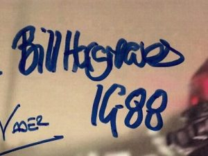 Bill Hargreaves autograph star wars 1
