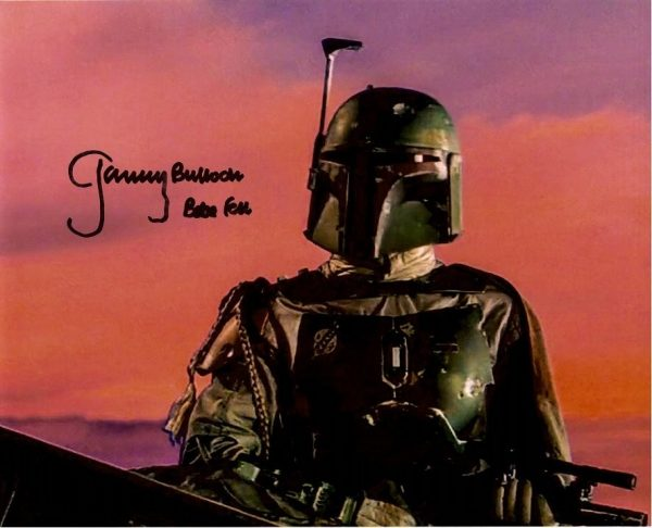 Jeremy Bulloch hand signed 8x10 Star Wars Cargo Hold photo