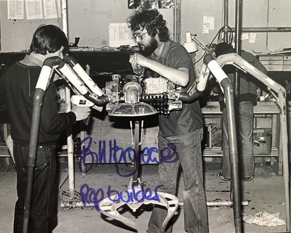 Bill Hargreaves autographed Star Wars Prop Maker photo