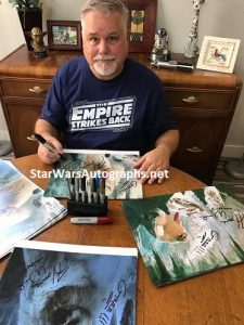 Howie Weed private signing