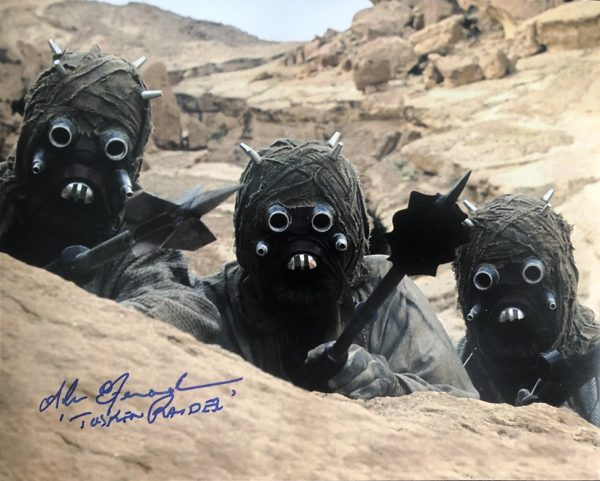 Sand People Alan Fernandes signed photo | Tuskan Raider 8x10