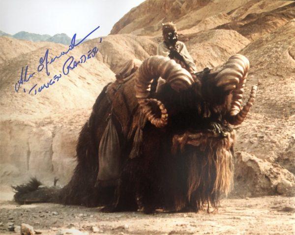 Alan Fernandes Autographed Star Wars photograph 8x10