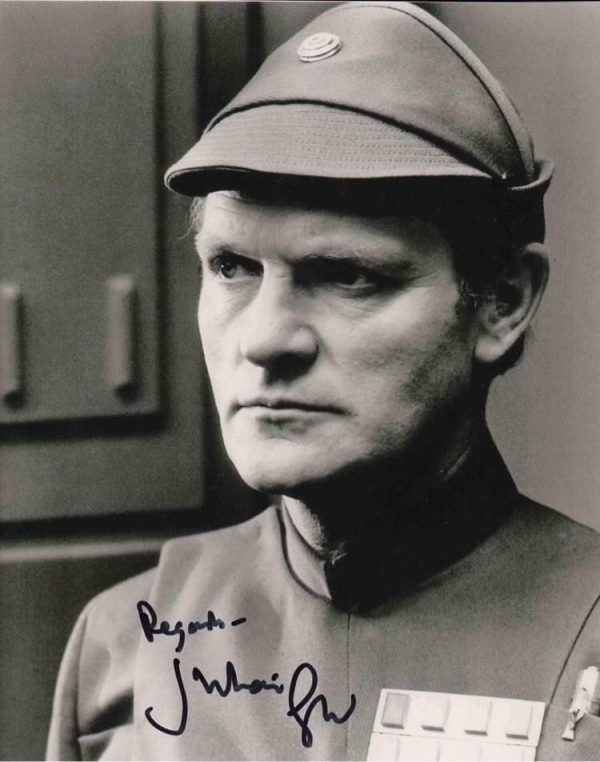 Julian Glover Autographs General Veers photo Star Wars 8x10""
