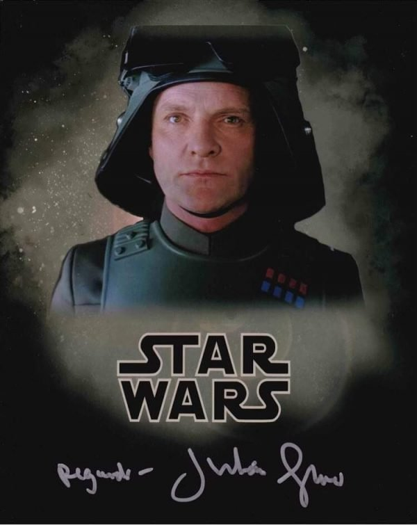Julian Glover Star Wars hand signed photograph AT-AT Driver 8x10""