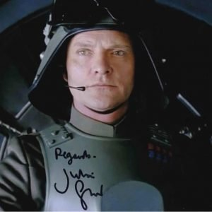 Julian Glover AT-AT General Veers Autographed photo 8x10""
