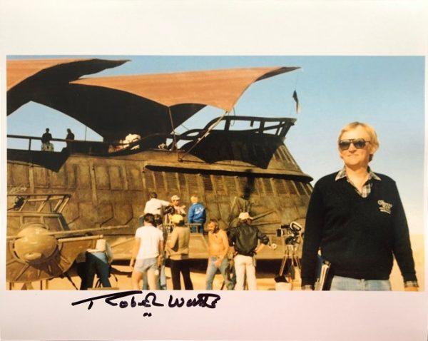 Robert Watts signed Sail barge photograph 8x10 1