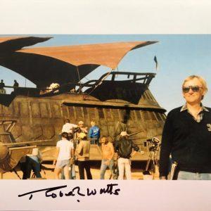 Robert Watts signed Sail barge photograph 8x10 3