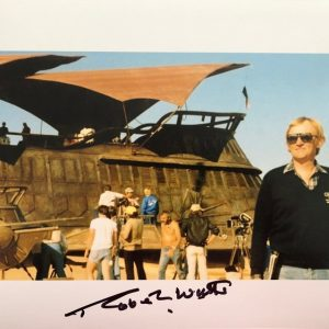 Robert Watts signed Sail barge photograph 8x10 4