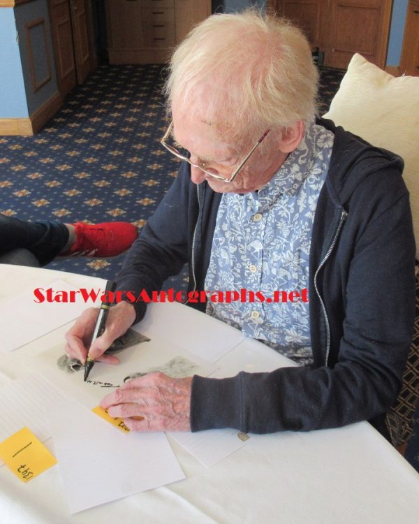 robert watts star wars signing autographs wampa