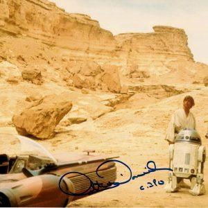 "Anthony Daniels Star Wars autographed photograph 8x10"" C-3PO"