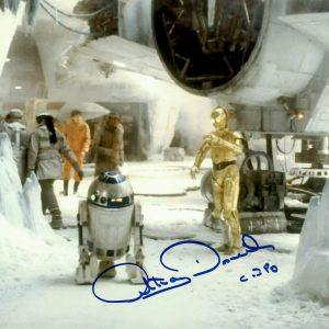 """Anthony Daniels CP3O Star Wars Signed photograph 8x10"""""""